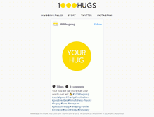 Tablet Preview of 1000hugs.org